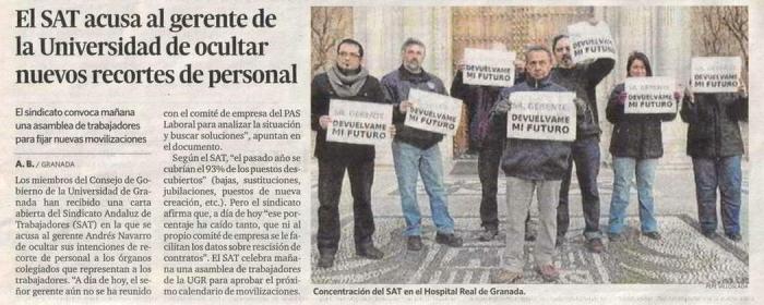 La movilización del 20 de febrero en la prensa
