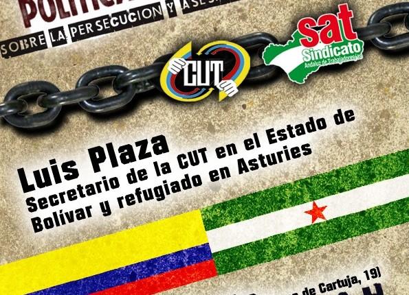 """Charla/coloquio """"Lucha Sindical y Violencia Politica en Colombia"""" y Barrilsolidario"""