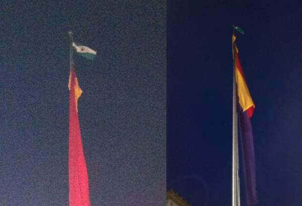 El SAT ve desproporcionada la petición de penas por ultraje a la bandera enGranada