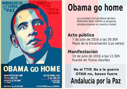 Obama go home