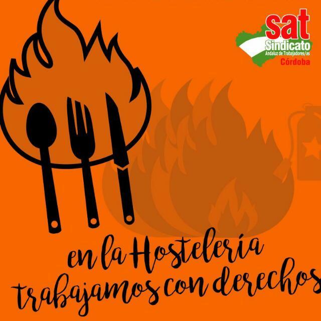 1ª Asamblea Nacional de Hostelería y Turismo del SAT (Córdoba 14 dejunio).