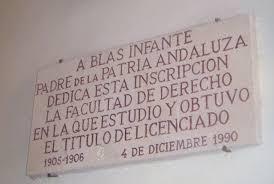 Blas Infante placa