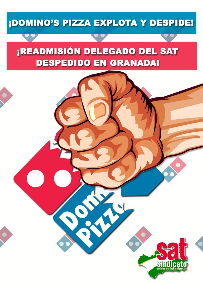 Cartel dominos. Granada