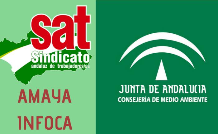 EL SINDICATO ANDALUZ DE TRABAJADORES ( SAT) DENUNCIA GRAVES CARENCIAS EN EL SERVICIO DE EXTINCIÓN DE INCENDIOSFORESTALES.