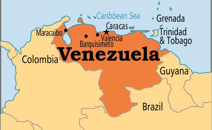 Concentración contra el golpe de estado enVenezuela.
