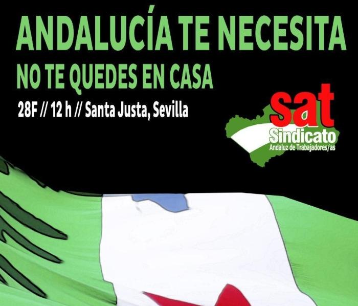 Manifestación el 28 de febrero en Sevilla: ¡Participa y lucha por tusderechos!