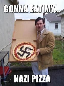 nazi pizza