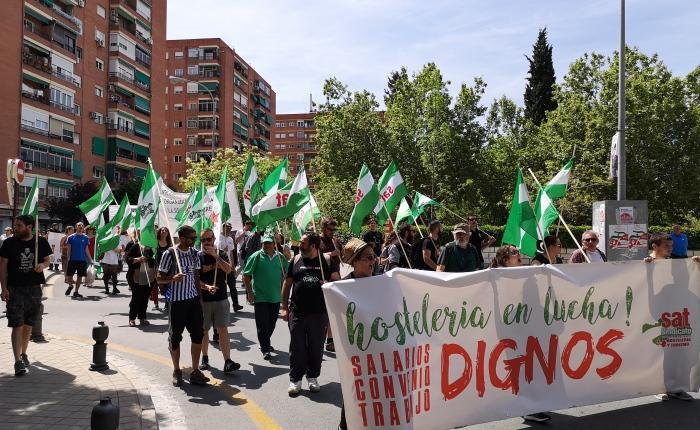 El SAT denuncia públicamente a la subdelegada del gobierno en Granada y exige sudimisión.