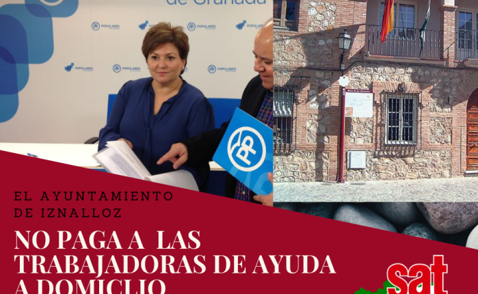 El Ayuntamiento de Iznalloz no paga a las trabajadoras de Ayuda aDomicilio.