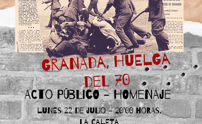 Acto- Homenaje a la Huelga del70.