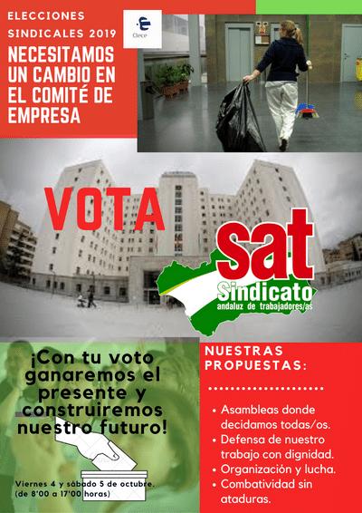 elecciones CLECE