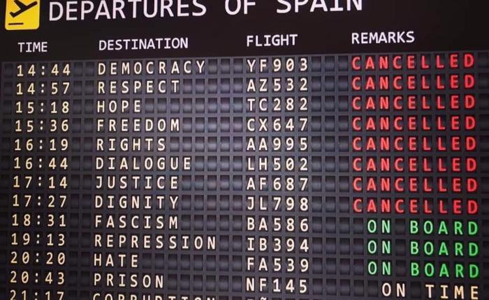 ¡ Basta de montajes y de represión! (Acerca de la concentración del 16 de octubre enGranada)