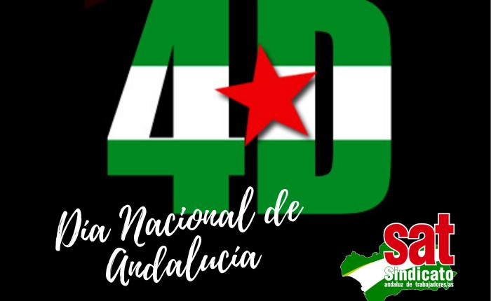 17 de noviembre. Andalucía: soberanía y justicasocial.
