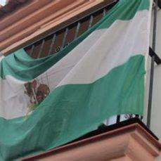 bandera balcón