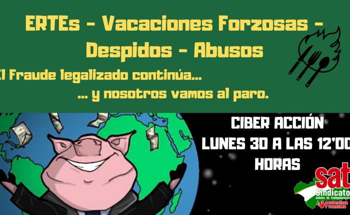 30 de marzo ¡ Ciber Acción contra el fraude en laHostelería!
