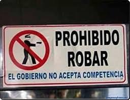 prohibido robar