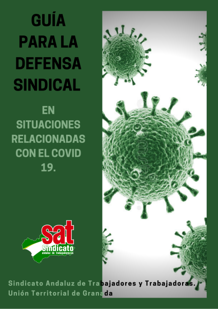 Guía para la defensa sindical en situaciones relacionadas con el COVID 19.(1)