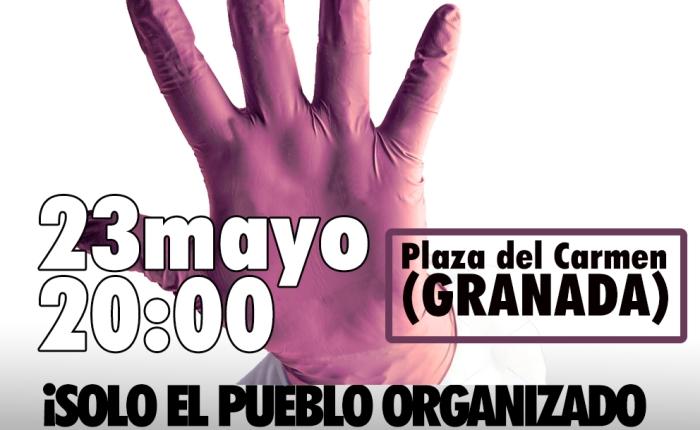 23 de mayo, 20'00 horas. Concentración en la plaza delCarmen.