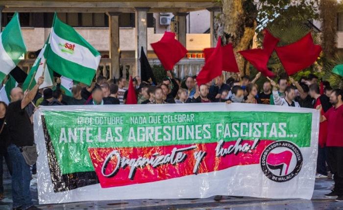 ¡ Contra la intolerancia y las agresionesfascistas!