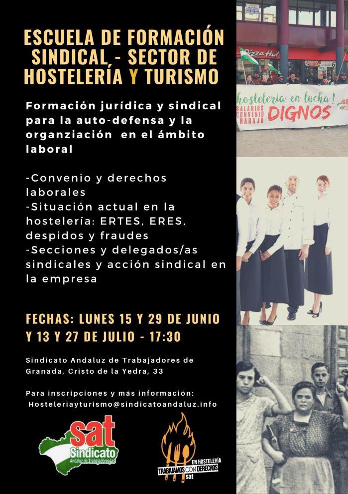 Escuela de formación sindical sector de Hostelería y TurismoReci-9(1)