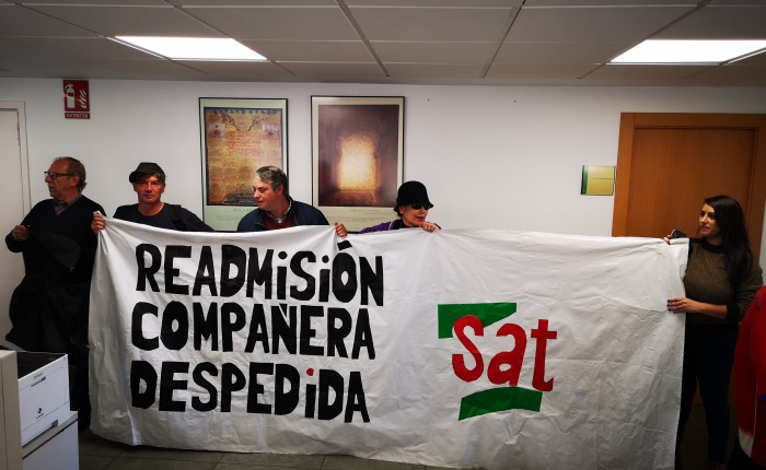 La empresa que despidió a la delegada del SAT, Vanesa Sánchez, entre los mayores morosos aHacienda.