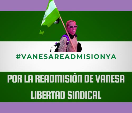 MÁS DE 300 ENTIDADES SE DIRIGEN A JUAN MARÍN (vicepresidente de la Junta de Andalucía) RECLAMANDO LA READMISIÓN DE LA DELGADA SINDICAL DESPEDIDA ENTURISMO.
