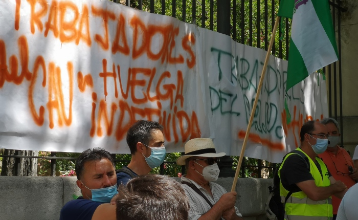 La UGR despide a los trabajadores delCAU.