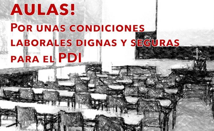 VACÍAN NUESTRAS AULAS PERO MANTIENEN SUS NEGOCIOS LLENOS. Concentración en la Puerta del Rectorado Miércoles 21 a las 12:00h.