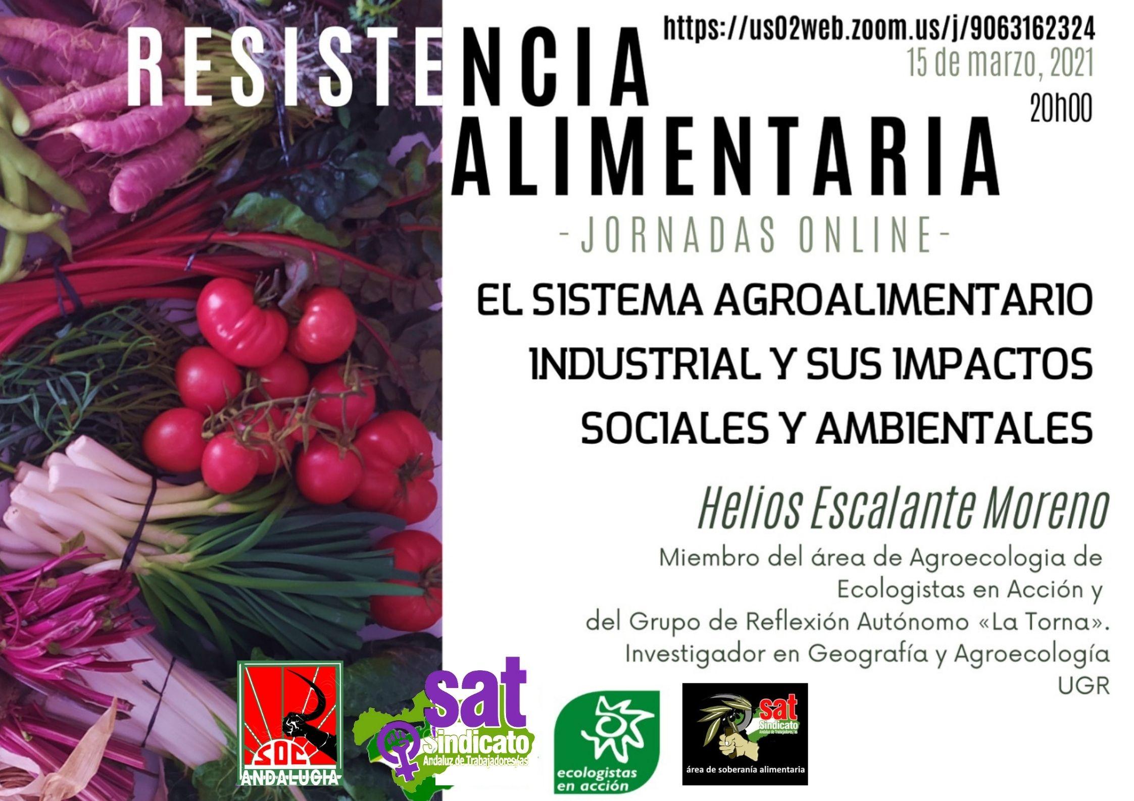15 de marzo. El Sistema agroalimentario...horizontal