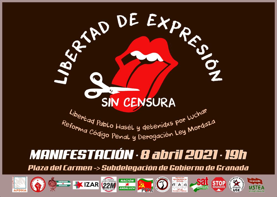 libertad de expresión-cartel
