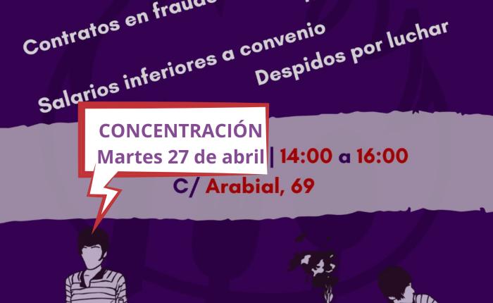 Hostelería en lucha. 27 de abril 14'00 horas El TablónVerde.