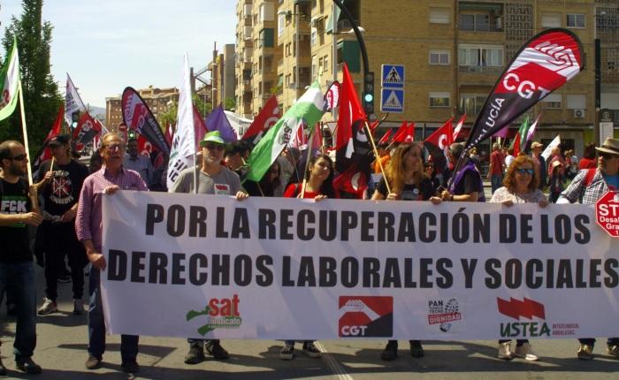 1º DE MAYO ¡A la calle! Por la recuperación de los derechos laborales ysociales