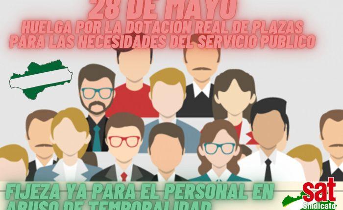 28 de mayo Huelga General del Sector Público y sus contratas ¡ QUIENES ESTÁN, SEQUEDAN!