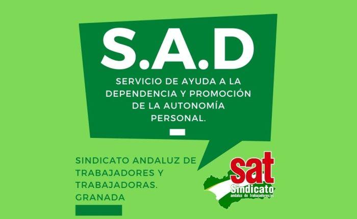 El SAT (Servicio Ayuda a Domicilio), tepropone…
