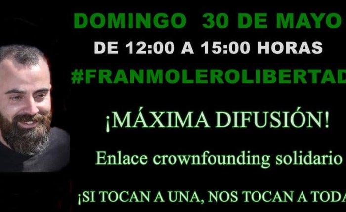 #FranMoleroLibertad.  CAMPAÑA DEREDES