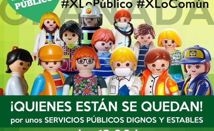 CONCENTRACIÓN sábado 15 de mayo por la estabilidad en el empleo de los trabajadorespúblicos.