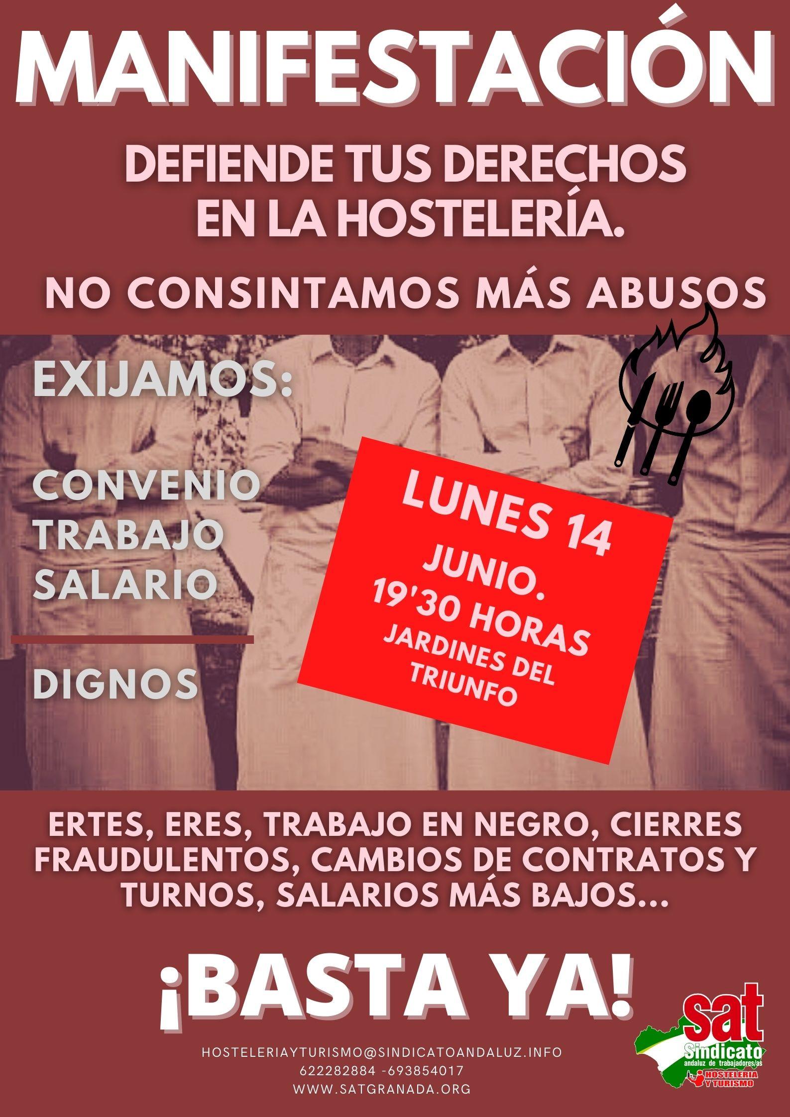 Manifestación 14 de junio