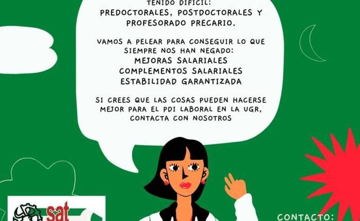 El SAT, tu sindicato en la Universidad deGranada